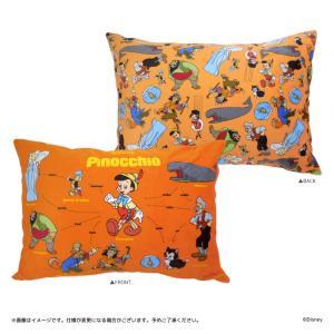 Disney(ディズニー) キデイランド オリジナル相関図シリーズ 枕カバー(ピノキオ) harajuku-kiddyland