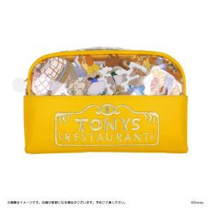 Disney(ディズニー) キデイランド オリジナルデザイン 『わんわん物語』 TONYS RESTAURANT デスクポーチ harajuku-kiddyland