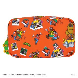 Disney(ディズニー) キデイランドオリジナルデザイン 『グーフィー&マックス』 コスメポーチ harajuku-kiddyland