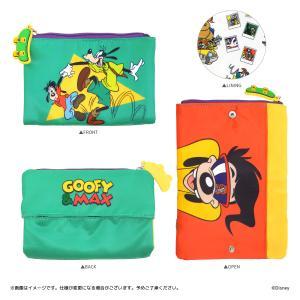 Disney(ディズニー) キデイランドオリジナルデザイン 『グーフィー&マックス』 ティッシュポーチ harajuku-kiddyland