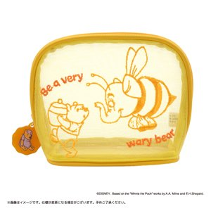 Disney(ディズニー) キデイランドオリジナルデザイン 『くまのプーさん』 メッシュポーチ プー&ハチズオウ harajuku-kiddyland