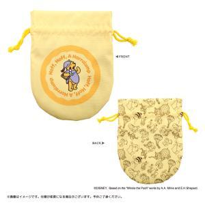 Disney(ディズニー) キデイランドオリジナルデザイン 『くまのプーさん』 丸型巾着 harajuku-kiddyland