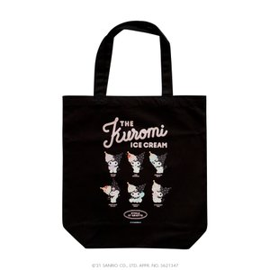ETOILE ET GRIOTTE×Kuromi THE Kuromi ICE CREAME トートバッグ SANRIO サンリオ クロミ|harajuku-kiddyland