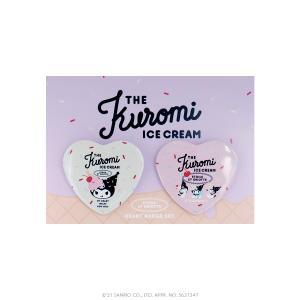 ETOILE ET GRIOTTE×Kuromi THE Kuromi ICE CREAME ハート缶バッジ SANRIO サンリオ クロミ|harajuku-kiddyland