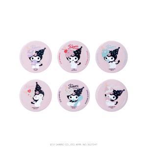 ETOILE ET GRIOTTE×Kuromi THE Kuromi ICE CREAME グリッター缶バッジ SANRIO サンリオ クロミ|harajuku-kiddyland