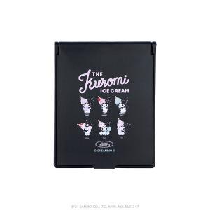 ETOILE ET GRIOTTE×Kuromi THE Kuromi ICE CREAME コンパクトミラー Mサイズ SANRIO サンリオ クロミ|harajuku-kiddyland