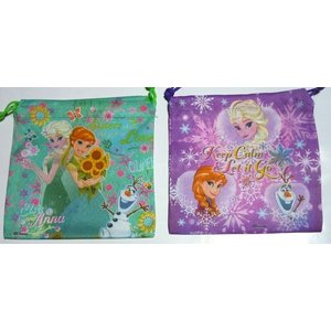 お菓子 駄菓子の詰め合わせ アナと雪の女王 巾着袋入り 100円|harasho|06