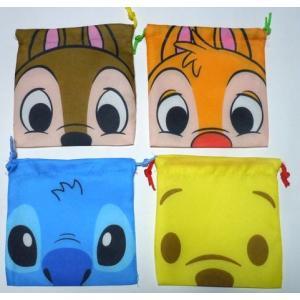 お菓子 駄菓子の詰め合わせ ディズニー顔柄 ミニ巾着袋入り 100円 クリスマス2020|harasho|04