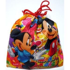駄菓子 お菓子詰め合わせ ディズニー  カラフル巾着袋入り 100円 子供 ギフト 景品 ホワイトデー