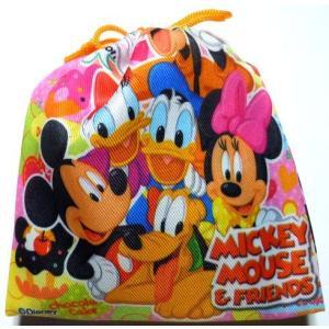お菓子 駄菓子の詰め合わせ ディズニー カラフル巾着袋入り 120円|harasho
