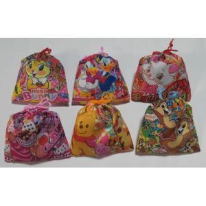 お菓子 駄菓子の詰め合わせ ディズニー カラフル巾着袋入り 120円|harasho|02