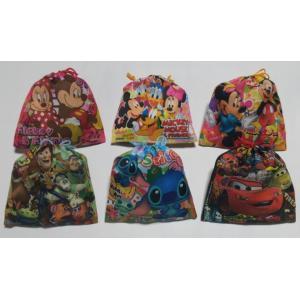お菓子 駄菓子の詰め合わせ ディズニー カラフル巾着袋入り 120円|harasho|03
