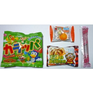 お菓子 駄菓子の詰め合わせ ディズニー カラフル巾着袋入り 120円|harasho|04