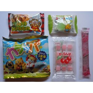 駄菓子 お菓子  詰め合わせ ディズニー オールスター巾着袋入り 150円 harasho 03