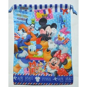 お菓子 駄菓子 詰め合わせ ディズニー  大判巾着袋入り 300円 harasho 05