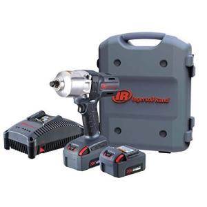新型 日本正規品 Ingersoll Rand インガソールランド 充電式コードレスインパクトレンチ(新型バッテリー5.0Ah 2個付き) W7150-K22|haratool