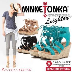 【セール】ミネトンカ レイトン ウェッジ サンダル 正規販売店 MINNETONKA LEIGHTO...