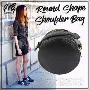 丸型タッセルショルダー レディース バッグ 鞄 カバン ショルダーバッグ モード ブラック BLACK 小さめ