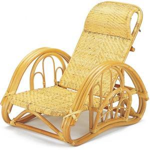 籐家具 ラタン 椅子 チェアー リクライニングチェア 折り畳みチェア アームチェア 籐リクライニング座椅子 a112|harda-kagu