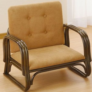 正座椅子 正座器 正座いす 正座イス 籐家具 ラタン 椅子 スツール 座椅子 座イス 籐正座椅子正座用椅子 背もたれ付 パーソナルチェア アームチェア harda-kagu