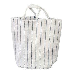 ランドリーバッグ ブルー バスケット 洗濯かご 洗濯物入れ 脱衣かご 収納 カゴ ランドリー 洗濯 収納ケース 収納 おしゃれ|harda-kagu