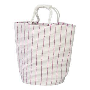 ランドリーバッグ ピンク バスケット 洗濯かご 洗濯物入れ 脱衣かご 収納 カゴ ランドリー 洗濯 収納ケース 収納 おしゃれ|harda-kagu