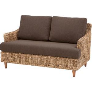 ソファ ソファー 完成品 2人掛けソファ アバカ アジアン家具 籐椅子 幅120cm クラール 二人掛けソファ アバカソファ アジアンソファ|harda-kagu