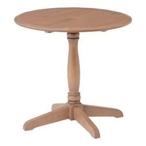 ダイニングテーブル 丸テーブル カフェテーブル 木製 ラウンドテーブル テーブル バーニー 幅60cm コーヒーテーブル サイドテーブル|harda-kagu