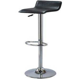 カウンターチェア スツール 回転 昇降 2脚セット ブラック 2個セット 合皮 合成皮革 合皮レザー カウンターチェアー カウンタースツール いす イス 椅子|harda-kagu