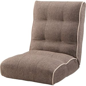 リクライニング座椅子 座椅子 リクライニング ファブリック ポケットコイル 腰痛 ポケットコイル シュシュ ブラウン 座イス 座いす フロアチェア チェア|harda-kagu