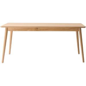 ダイニング テーブル 木製 天然木 4人掛け 北欧デザイン風 ダイニングテーブル 幅160cm ナチュラル 木製テーブル 食卓 食卓机 食卓テーブル シンプル つくえ 机|harda-kagu