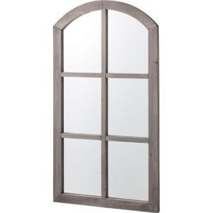 鏡 壁掛け 北欧 完成品 おしゃれ アンティーク 窓風デザインウォールミラー ウォールミラー 窓 ミラー 身だしなみ アンティーク風家具 掛け鏡 化粧 コスメ 化粧|harda-kagu