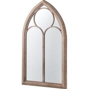 鏡 壁掛け 北欧 完成品 おしゃれ アンティーク 窓風デザインウォールミラー ミニョン ウォールミラー 窓 ミラー 身だしなみ 姫 姫系 アンティーク風家具 掛け鏡|harda-kagu