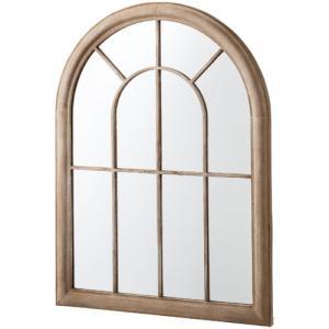 鏡 壁掛け 北欧 完成品 おしゃれ アンティーク 窓風デザインウォールミラー アリオス ウォールミラー 窓 ミラー 身だしなみ 姫 姫系 アンティーク風家具 掛け鏡|harda-kagu