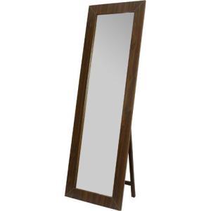 完成品 ワイドスタンドミラー 鏡 大型 姿見 アンティーク ウォールナット スタンドミラー スタンドタイプ ワイド ミラー 姿見鏡 全身鏡 全身ミラー 幅50|harda-kagu