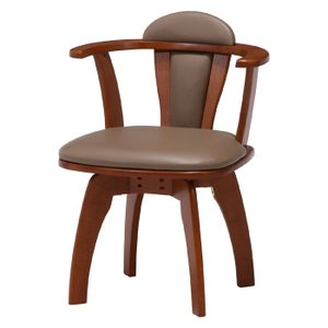 ダイニングチェア デスクチェア 回転 回転チェア 回転ダイニングチェア 回転式 回転椅子 回転いす 肘付き 木製 チェア 椅子 ダイニング|harda-kagu