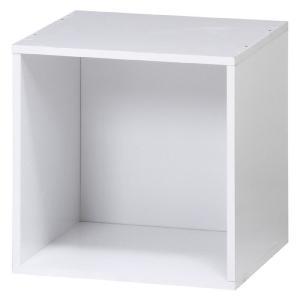 キューブボックス カラーボックス キューブ ラック 棚 ボックス ボックスラック オープン ホワイト おしゃれ パズルラック 本棚|harda-kagu