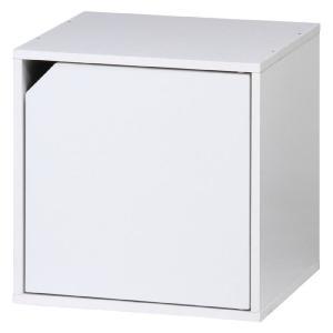 キューブボックス カラーボックス キューブ ラック 棚 扉付 ホワイト おしゃれ パズルラック 収納棚 シェルフ 本棚 戸棚 扉 キャビネット|harda-kagu