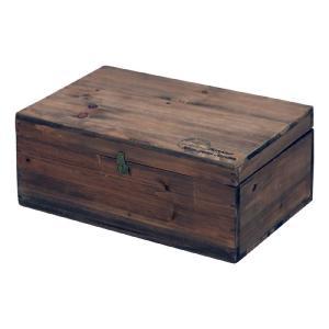 小物入れ 木製ボックス 蓋付 moku ブラウン 木箱 箱 収納|harda-kagu