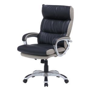 オフィスチェア ワークチェア デスクチェア エグゼクティブチェア ポケットコイルスプリング入り マリーノ ブラック 椅子 社長椅子 チェア パソコンチェア|harda-kagu