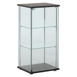 フィギュアケース コレクションケース ガラス コレクションケース 3段 スリム 3段 背面ミラー無し 高さ90cm フィギュア コレクションラック ガラスケース 大型|harda-kagu