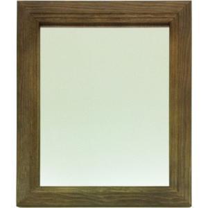 卓上鏡 鏡 ミラー デスクミラー 日本製 完成品 天然木卓上ミラー スタンドミラー テーブルミラー 化粧 コスメ 洗面所 卓上 角型 コンパクトサイズ 幅23.5 雑貨 harda-kagu