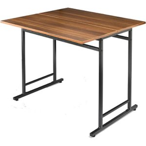 ダイニングテーブル 単品 2人 2人掛け 2人用 バタフライ バタフライ天板 幅75 高さ70cm 食卓|harda-kagu