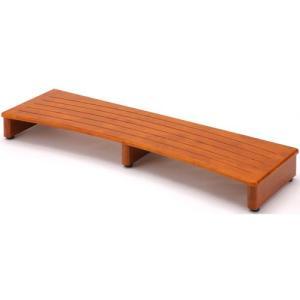 玄関踏み台 踏み台 完成品 玄関台 幅120cm ブラウン 木製玄関台 玄関 木製 天然木 木 靴収納 収納 アジャスター付き 玄関収納 台 玄関ステップ harda-kagu