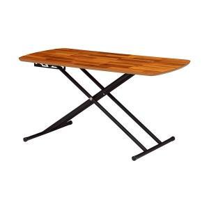 センターテーブル テーブル リビングテーブル ローテーブル 高さ調節 昇降式 リフティングテーブル 幅100cm アカシア 昇降テーブル カフェテーブル|harda-kagu