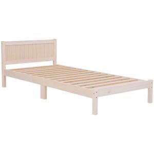 すのこベッド ベッド ベッドフレーム シングル ホワイトウォッシュ ベット シングルベッド シングルベット harda-kagu