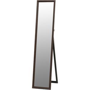 スタンドミラー 姿見 ミラー 鏡 幅33cm ブラウン 高さ150cm かがみ 全身鏡 スタンド スタンドタイプ 姿見鏡 全身ミラー 玄関 リビング|harda-kagu