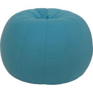 ビーズクッションソファ バルーン レギュラー ブルー 幅55cm ビーズソファ クッションソファ クッション ソファ|harda-kagu