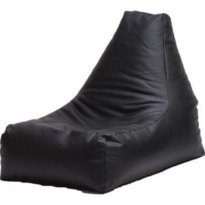 ビーズクッションソファ 合皮 レザー ブラック L字 ビーズソファ クッションソファ クッション ソファ|harda-kagu