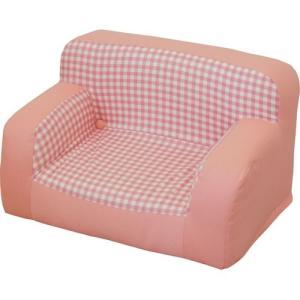 キッズソファ 子ども用 子どもソファ ピコ ピンク 幅50 高さ30 子ども用 子ども向け こども用 こども向け チェア 子供用ソファ|harda-kagu